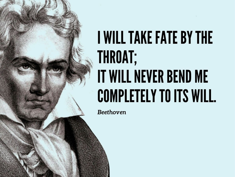 I wish you a Beethoven mindset