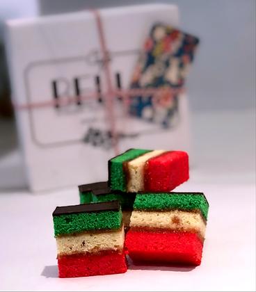 1lb Rainbow Cookies