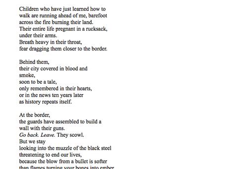 Nigeen Akram's poetry