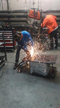 Découpe de métal