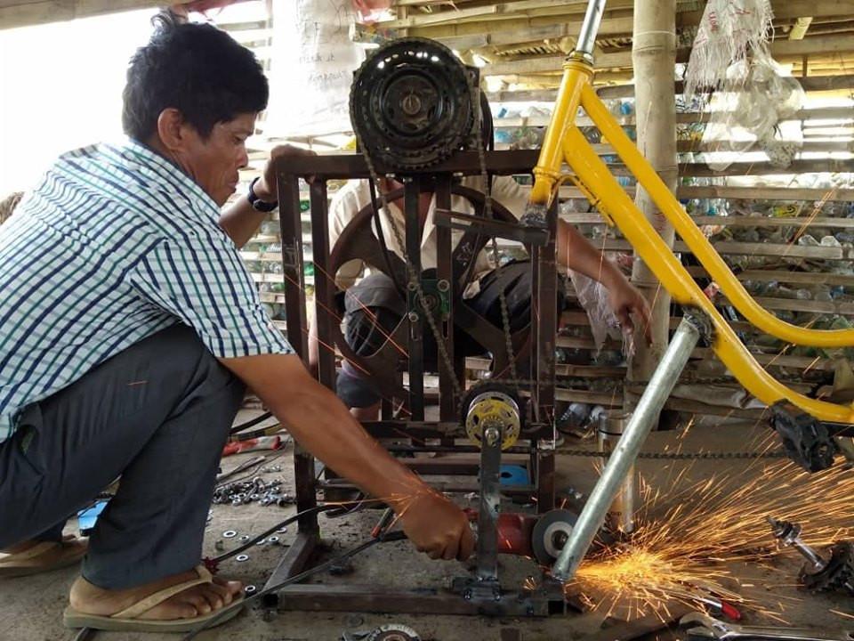 Construction broyeur mécanique