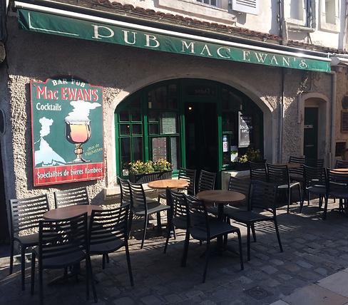 Devanture Mac Ewan's La Rochelle