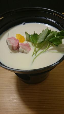 豆乳湯豆腐 ¥1200