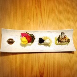 三種盛り ¥600