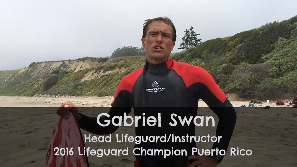 Gabriel Swan uses the Floater wetsuit
