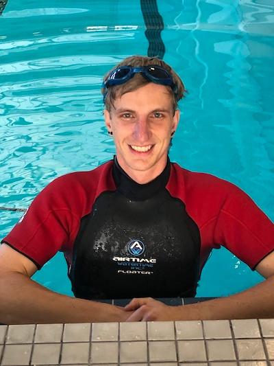 Zack Wentz, quad wheelchair tennis athlete