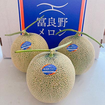 北海道 赤肉富良野メロン(秀品)