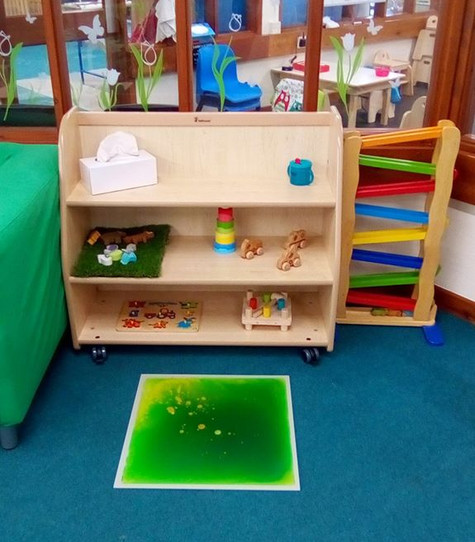 Baby room toys
