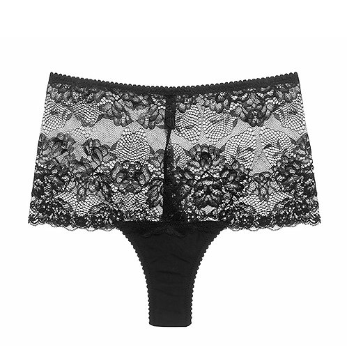 Hollie high waist french brief/ Lonely