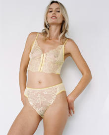 Shelby High waist brief sorbet/ Lonely