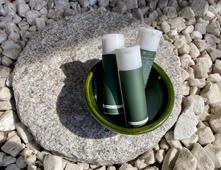 アロマ アルコールハンドジェル Tea tree & Eucalyptus 携帯50ml/ QR aroma