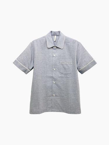 Men's スリーピングシャツ(ハーフ)/ SkinAware