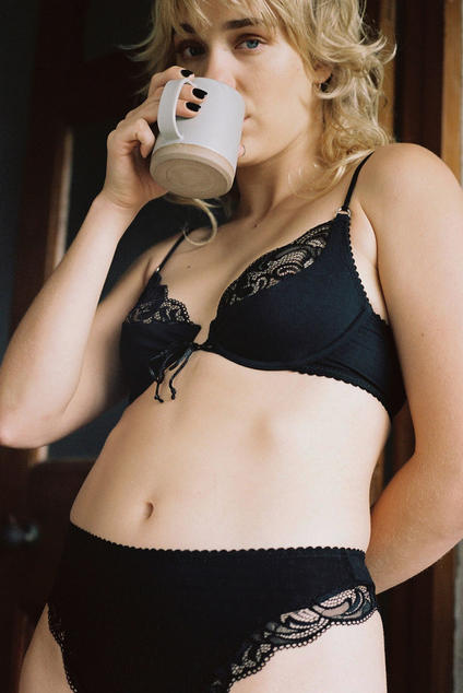 Olivia underwire bra black/ Lonely