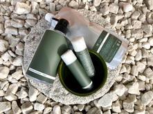 アロマ アルコールハンドジェルセット Tea tree & Eucalyptus/ QR aroma