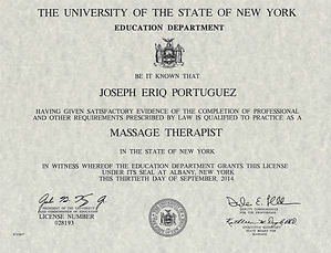 NYS Massage Therapy License.JPG