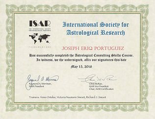 ISAR Counseling Skills Course Cerificate