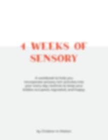 sensory workbook preview