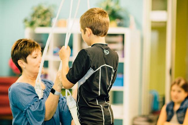 pediatric occupational therapist