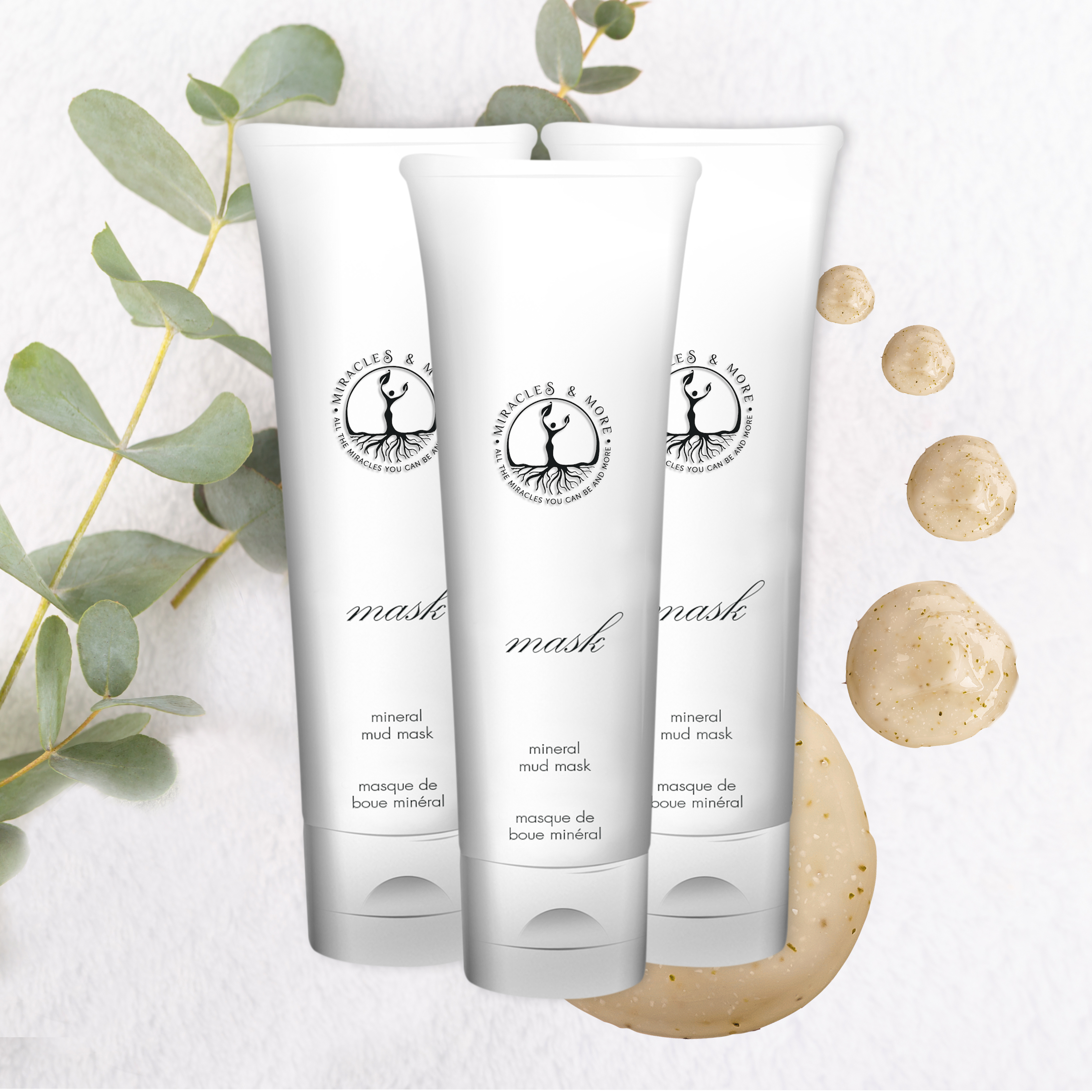 4.For Mineral Mud Mask