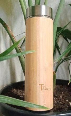 Bamboo Tea Infuser Bottle
