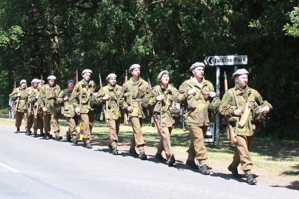 Polish Airbourne Marching