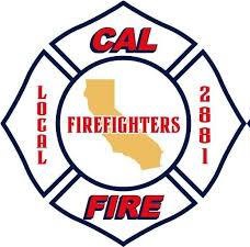 Morgan Hill Fire Fighters support Larry Carr