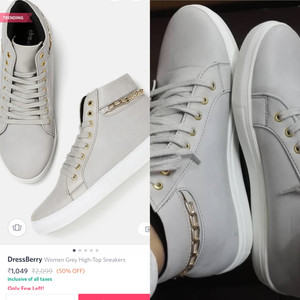 Myntra Dressberry shoes online shopping