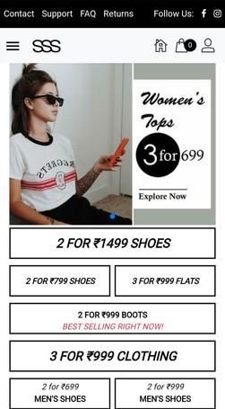 SSS online shop