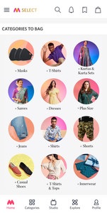 Myntra Most amazing categories online shopping
