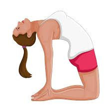 Camel yoga posture helps in managing diabetes