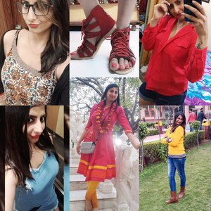 Myntra producrs clothing on customer. Online shopping Lover