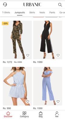 Urbanic Online shopping