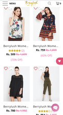 Berrylush online shopping tops