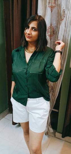 Dark Green Shirt from SSS