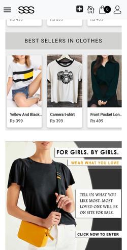 Street Style Store Website for online shopping