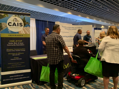 CAIS booth at CAI National 2019