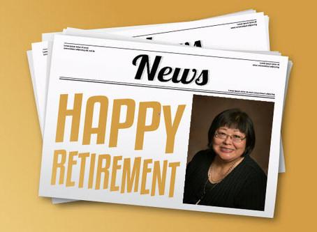 Happy Retirement Donna Preston!