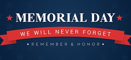 Notice: Memorial Day Holiday Hours