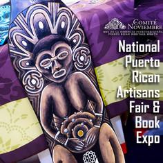 Comité Noviembre's 2019  National Puerto Rican Artisan Fair & Book Expo