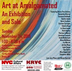 Art at Amalgamated:                                                              Art Exhibition & Sale