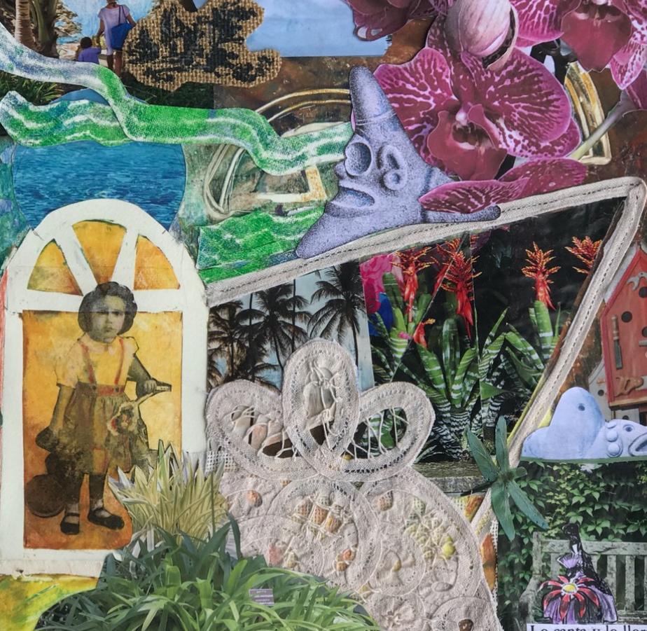 Visiones de mi ninez I, 2020, Multimedia, 12x13