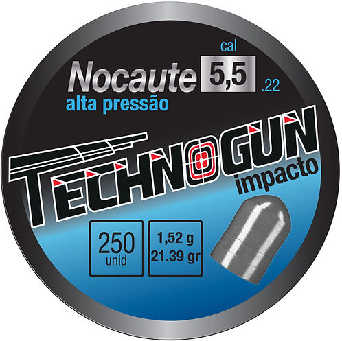 NOCAUTE - ALTA PRESSÃO - 5,5MM - PCT 250UN