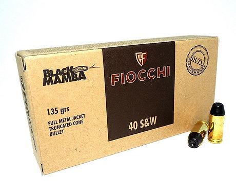 .40 S&W FIOCCHI - BLACK MAMBA