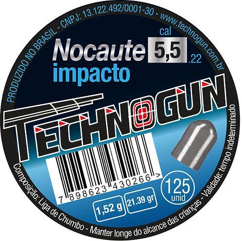NOCAUTE - ALTA PRESSÃO - 5,5MM - PCT 125UN
