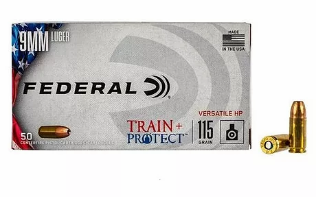 9MM TRAIN PROTECT  FEDERAL