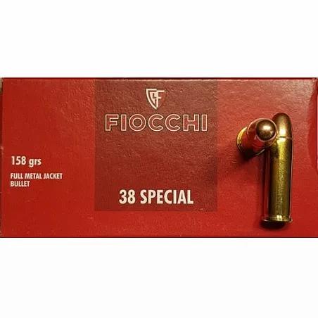 .38 SPL FMJ FIOCCHI
