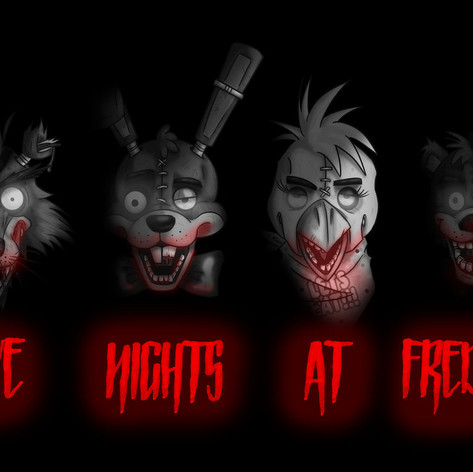 Noir Five Nights at Freddys