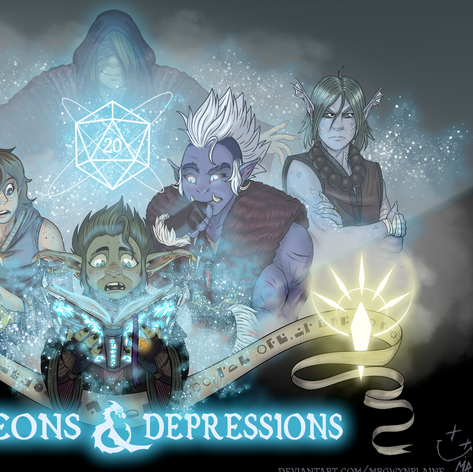 Dungeons & Depressions cover 2