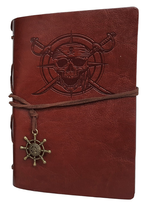 Faux Leather Pirate Journal Seeks Imaginative Writer