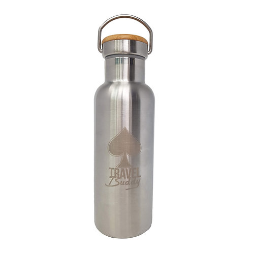 Totally Ordinary Stainless Steel Vacuum-Insulated Water Bottle 500ml/17oz